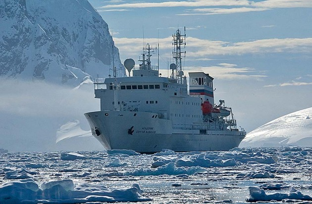 One Ocean Expeditions' Akademik Sergey Vavilov will source most of her 2015-16 Antarctica, Falklands and South Georgia passengers from Punta Arenas, Chile, with one direct sailing and half a dozen fly/cruises from Punta Arenas airport.