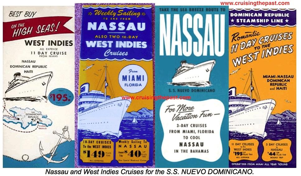 Nuevo Dominicano Cruise Brochures The Cruise People Ltd - Cruise ship brochure