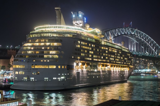 Voyager of the Seas at Circular Quay