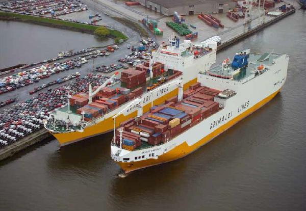 Grimaldi Lines ships