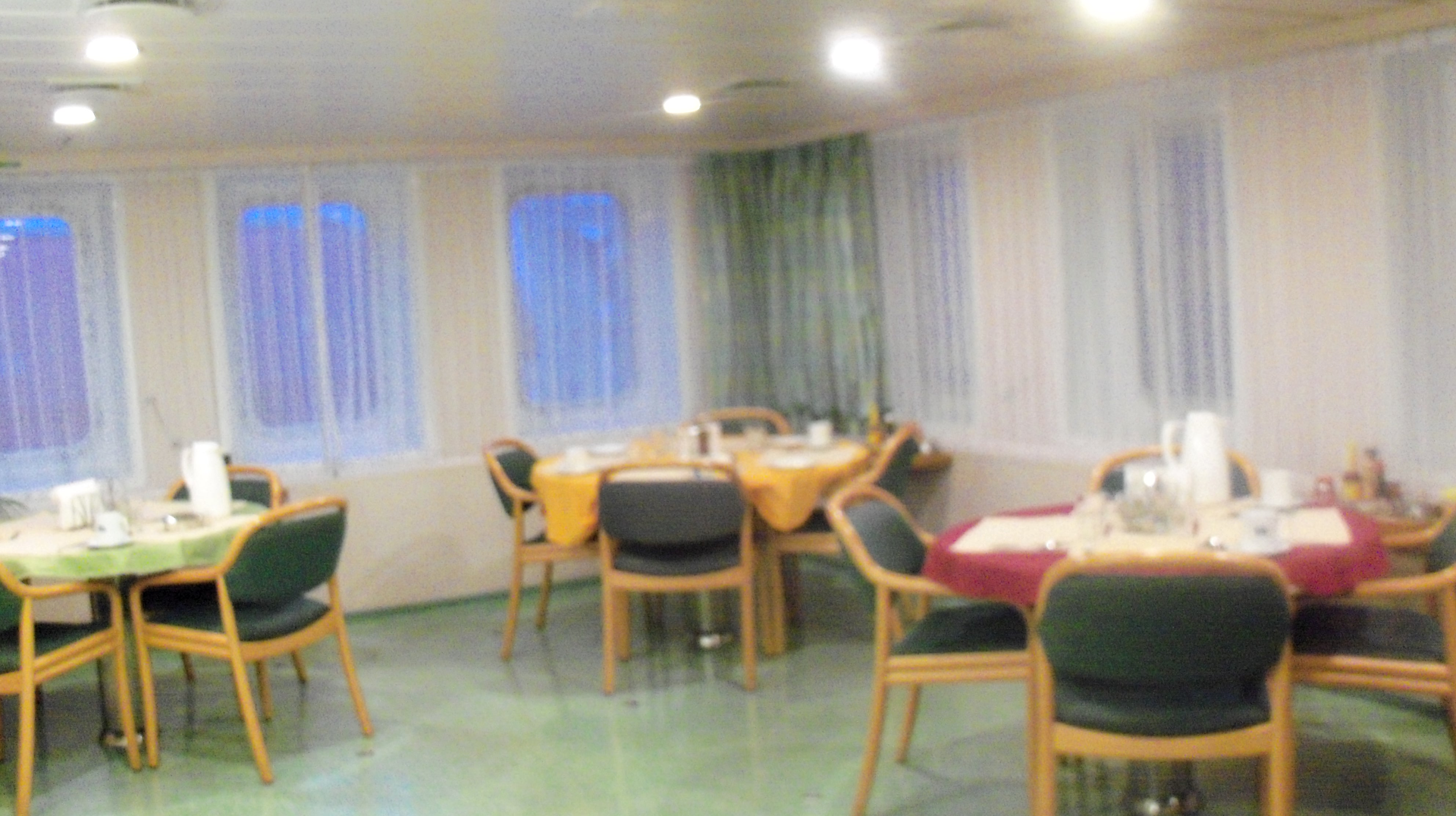 A Typical Week S Menu On Board An Nsb Container Ship The