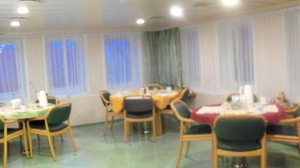 Hanjin Brussels Dining Room