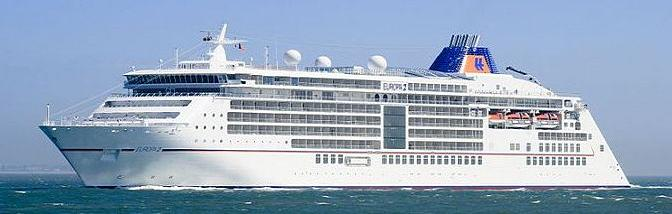 Europa The Cruise People Ltd Page - Queen elizabeth cruise ship wikipedia