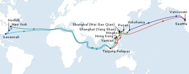 World Cruises - CMA CGM 2013