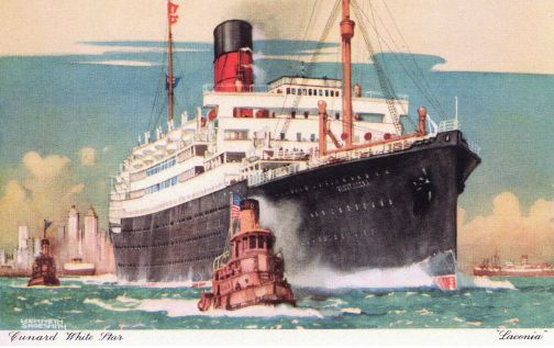 World Cruises - Laconia 1922