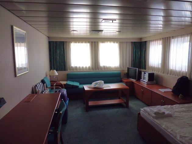 Bex's Supercargo cabin