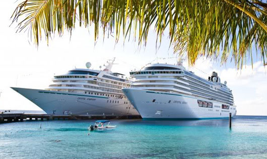 Crystal Serenity and Symphony