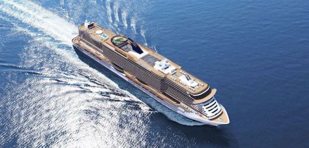 MSC Seaside design