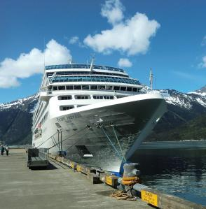 Pacific Princess at Skagway