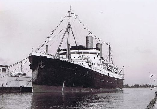 Duchess of Richmond on an earlier cruise at Miami