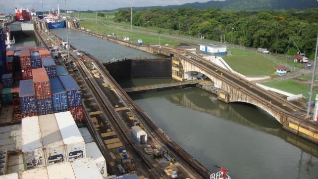 CC Utrillo in Panama Canal