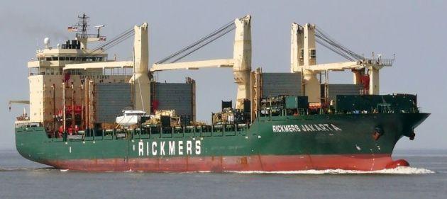Rickmers Jakarta © Marcus Ships