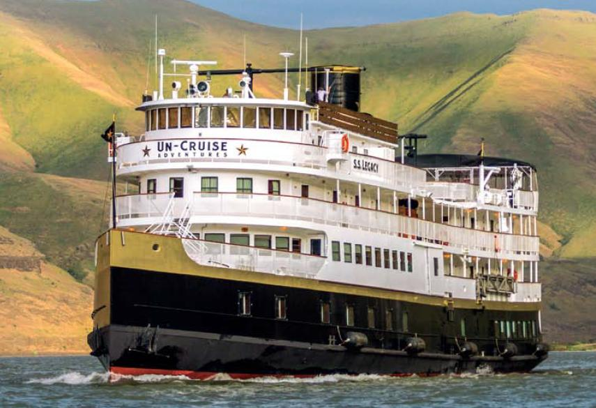 Columbia River Cruise Review Sailing Aboard UnCruise Adventures - Legacy cruise ship