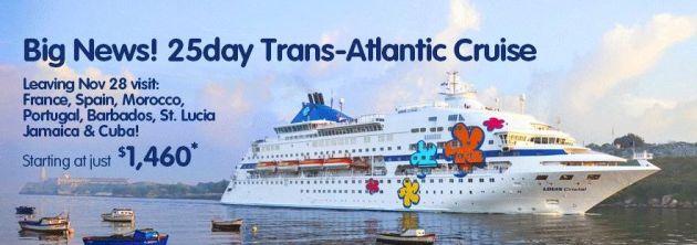 Cuba Cruise Transat