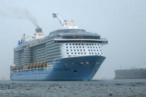 Quantum of the Seas at Soton