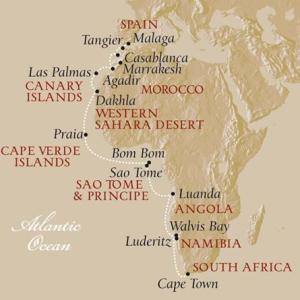 Malaga to Cape Town