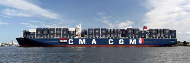 CMA CGM La Perouse inaugurates new Suez Canal
