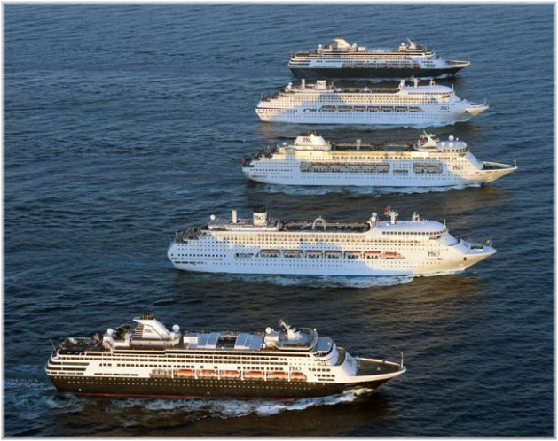 P&O Cruises Australia fleet
