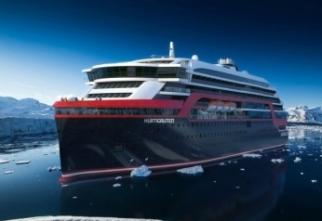 Hurtigruten bow gallery