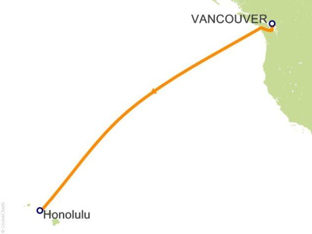 Vancouver to Honolulu