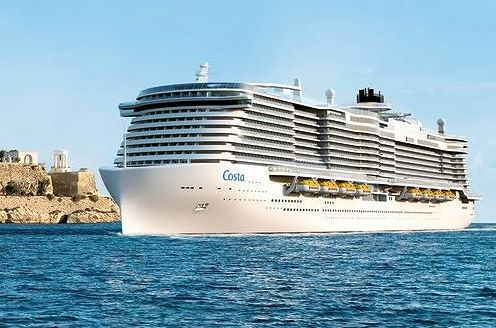 New p o flagship to follow aida costa design other for Round the world cruise 2016