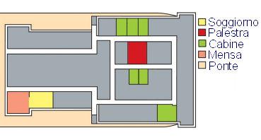 Grande Amburgo deck plan