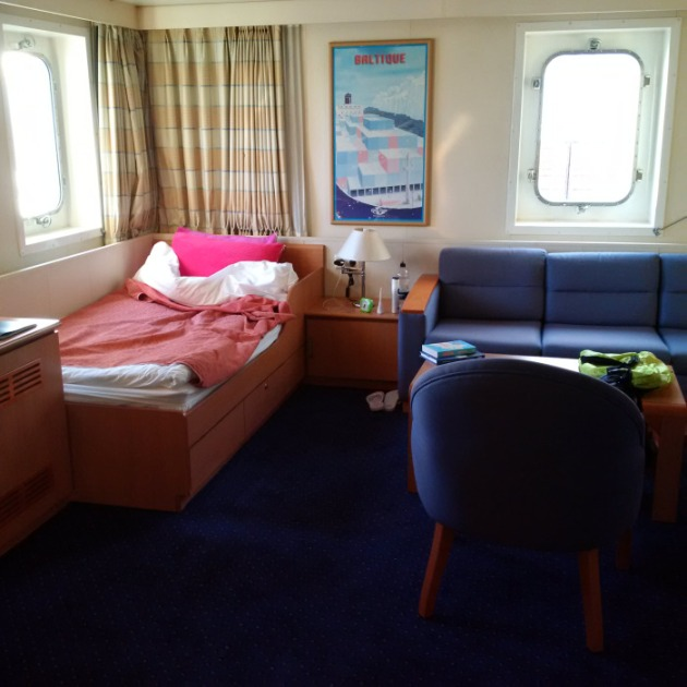 CMA CGM La Traviata - half of Betty's stateroom