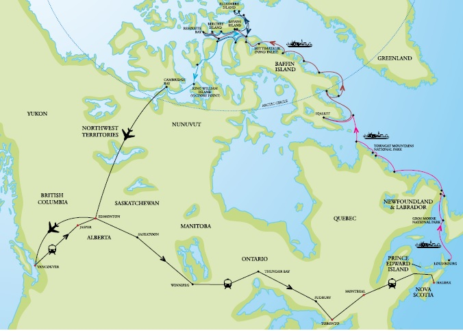 OOE Canada Circumnavigation