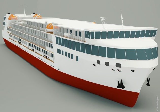 Peter the Great - artist's impression, courtesy CruiseMapper
