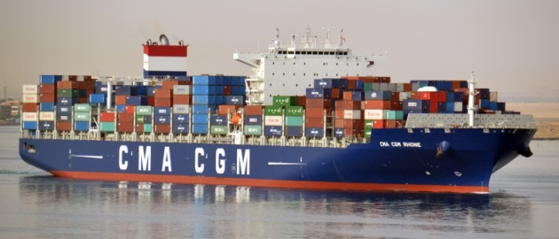CMA CGM Rhone © Shipspotting.com